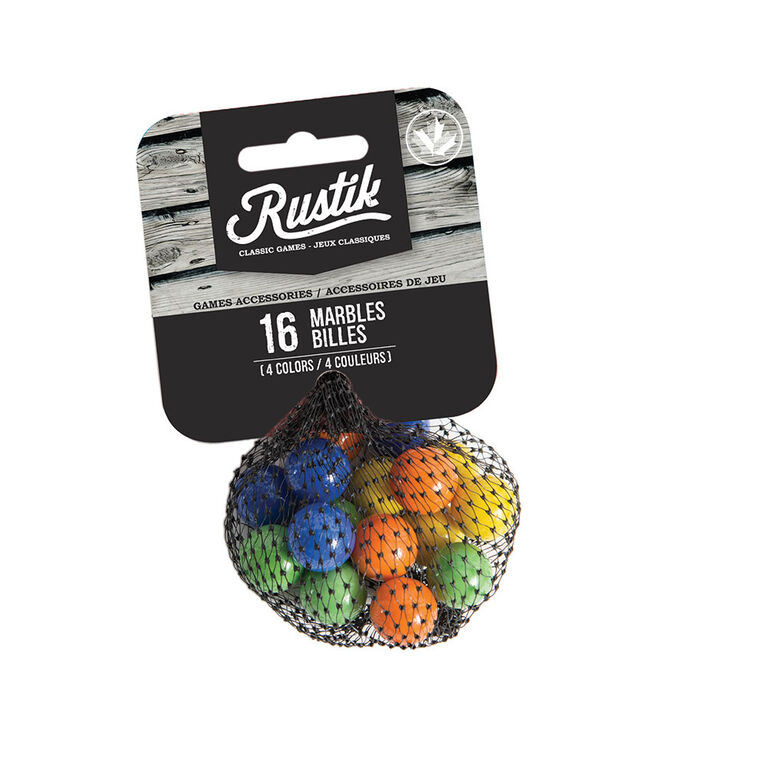 Refill of 16 marbles for 4 players Tock game .