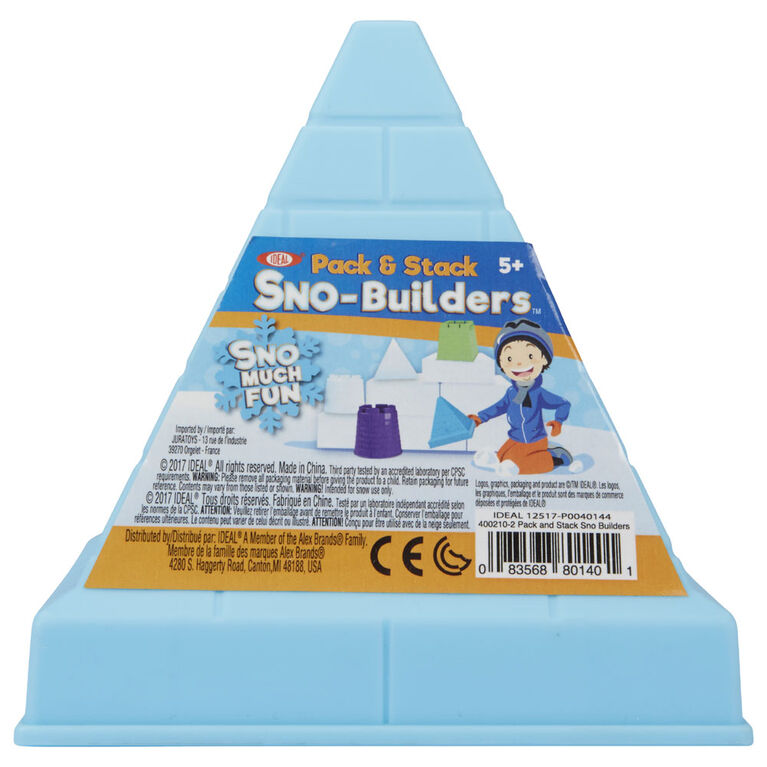 Ideal Sno Pack And Stack Builders - Colours and styles may vary