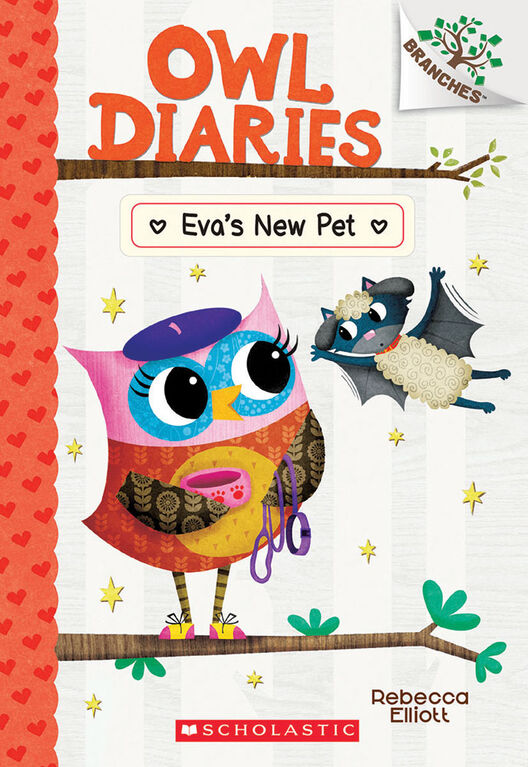 Scholastic - Owl Diaries #15: Eva's New Pet - English Edition