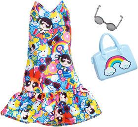 Barbie Powerpuff Girls Dress Fashion Pack