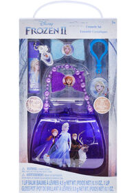 Frozen II Jeu cosmétique avec sac perlé.