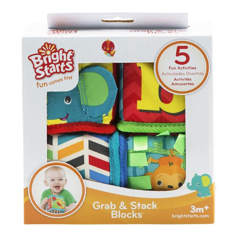 Bright Starts - Grab & Stack Blocks