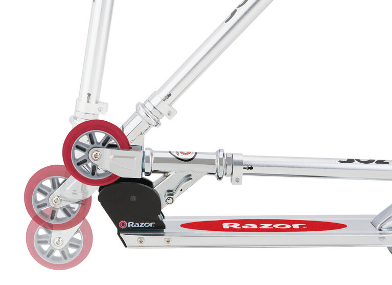Razor - 98mm A Kick Scooter - Red