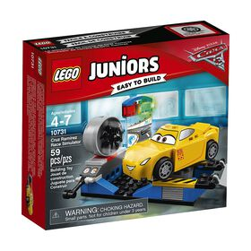 LEGO Juniors Cars Disney Pixar Cruz Ramirez Race Simulator 10731.