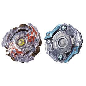 Beyblade Burst Evolution - Duo Surtr S2 et Odax O2.