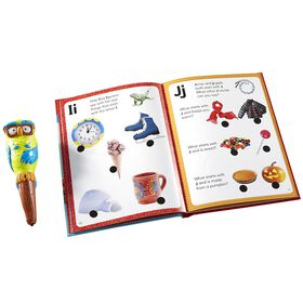 Educational Insights Hot Dots Jr. Let's Learn the Alphabet Interactive Book & Pen Set.