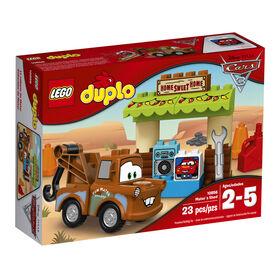 LEGO DUPLO Cars Disney Pixar La cabane de Mater 10856