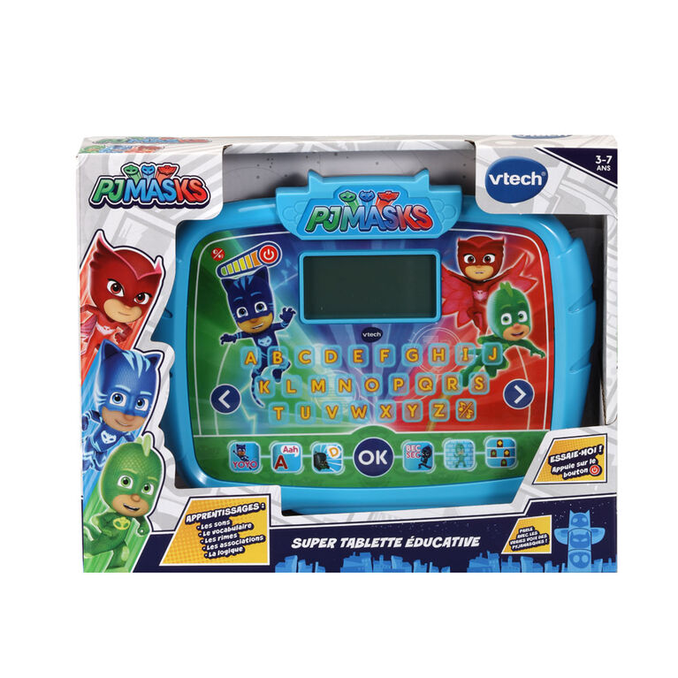 VTech PJ Masks Time to Be a Hero Learning Tablet - French Edition