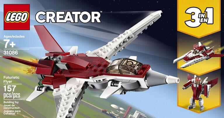 L'avion futuriste LEGO Creator 31086