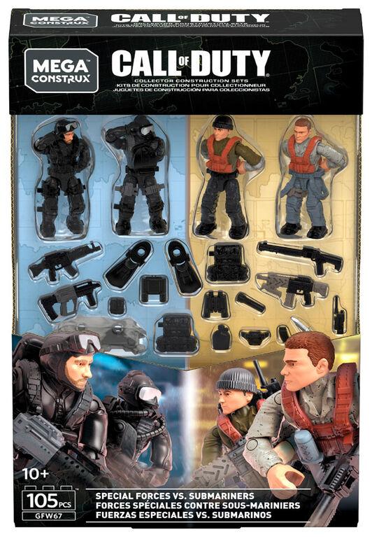 Mega Construx Call of Duty Seals vs. Submariners