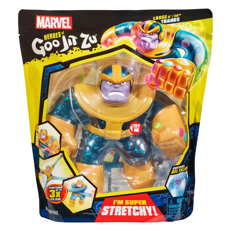 Héros de Goo Jit Zu - Héros Marvel Supagoo Thanos - Notre exclusivité