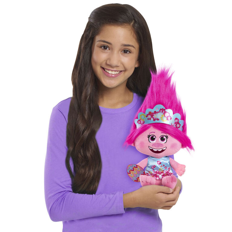 DreamWorks Trolls World Tour Large Poppy Easter Plush