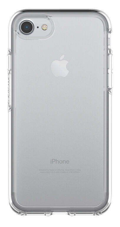 Étui Symmetry Transparent d'OtterBox pour iPhone 8/7 transparent