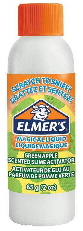 Liquide magique d'Elmer's à parfum de pomme verte