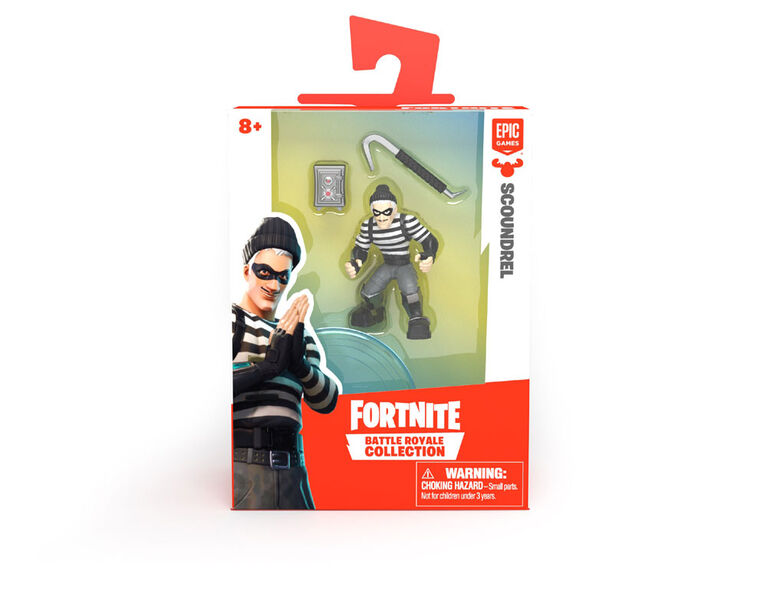Collection Fortnite Battle Royale: Solo pack - Scoundrel