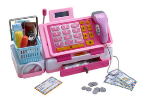 Just Like Home - Talking Cash Register - Pink - English Edition