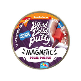 Nickelodeon Liquid Lava Putty Magnetic Polar Purple - R Exclusive