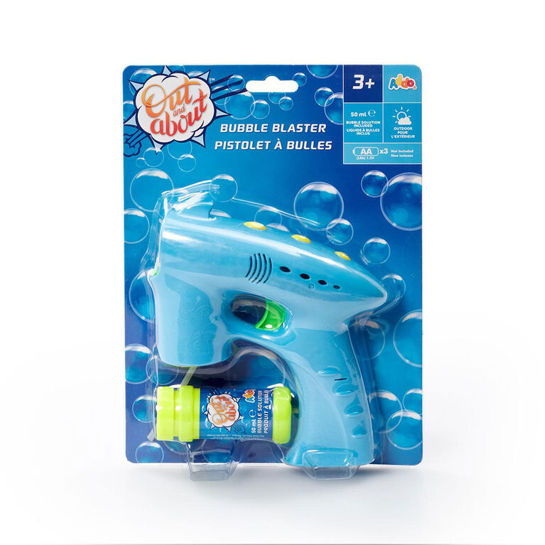 Out and About Bubble Blaster Blue - R Exclusive - English Edition