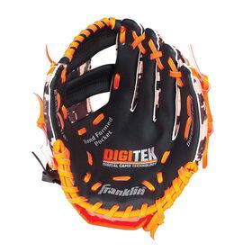 "95"" Cammo Digi Baseball Glove -Black/Orange"
