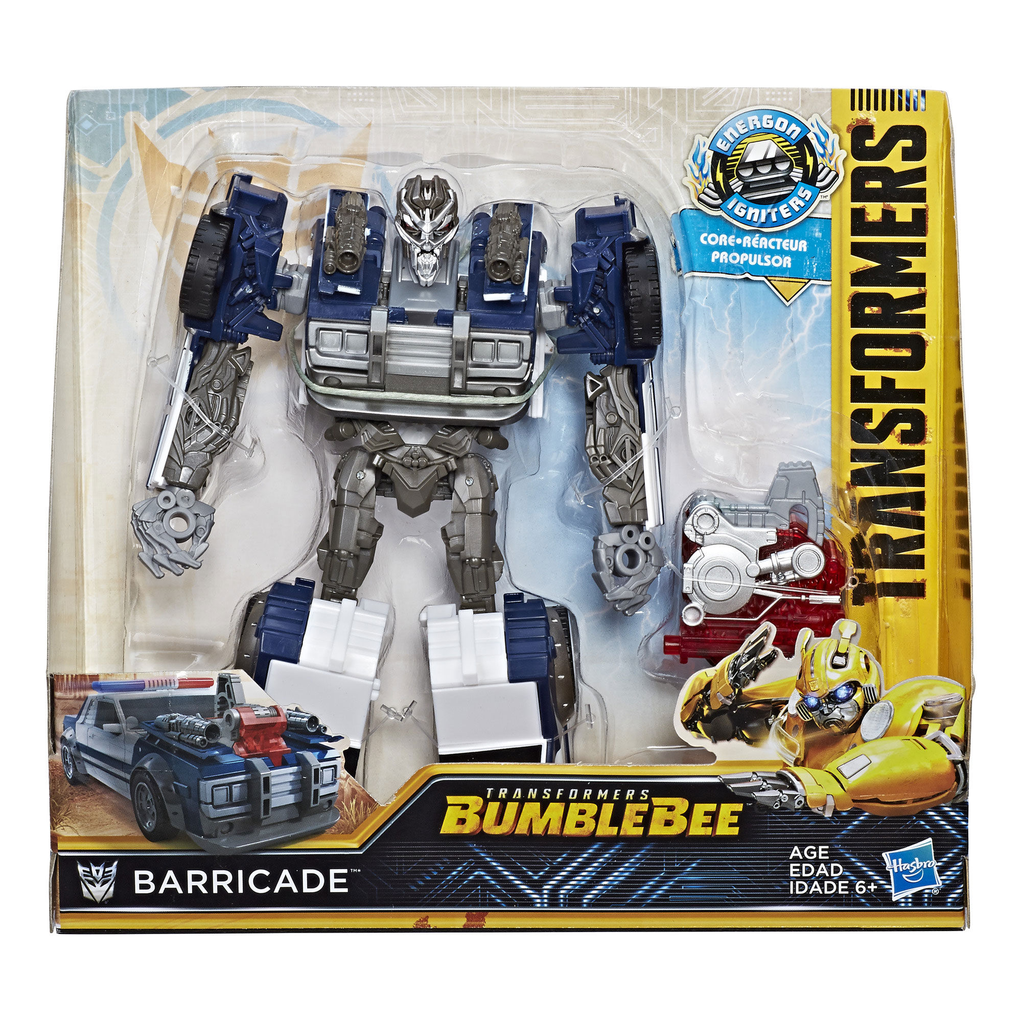 Bumblebee Energon Igniters Nitro Series Barricade Transformers