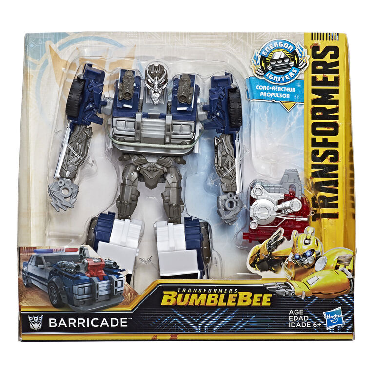 Transformers: Bumblebee -- Energon Igniters Série Nitro - Barricade.