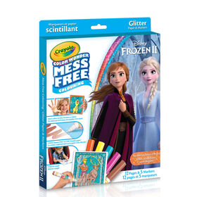 Crayola - Color Wonder Disney Frozen Glitter Paper & Markers