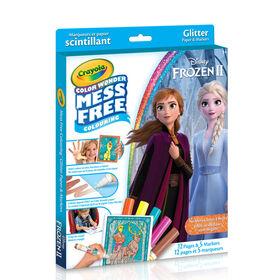 Crayola - Color Wonder Marqueurs et papier scintillant Disney Frozen