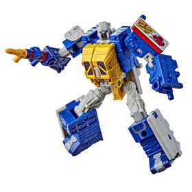 Transformers Generations Selects WFC-GS12 Greasepit, War for Cybertron Deluxe Class Collector Figure, 5.5-inch - R Exclusive