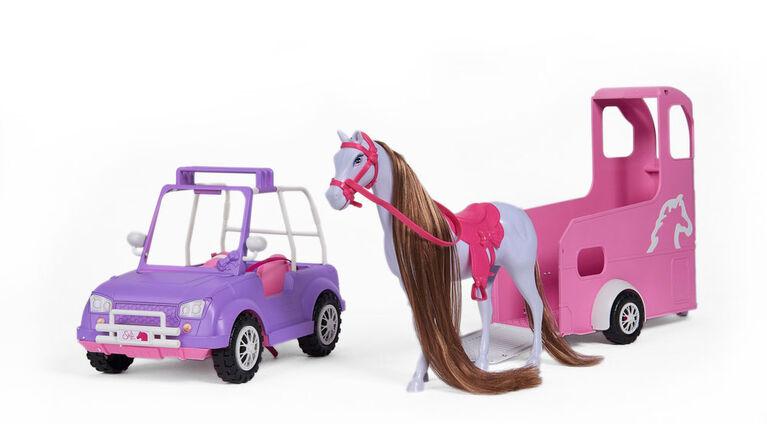 Steffi remorque à chevaux