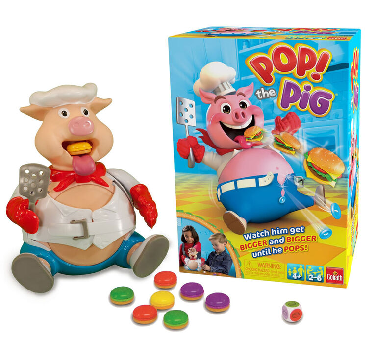 Goliath: Pop The Pig! Game - English Edition