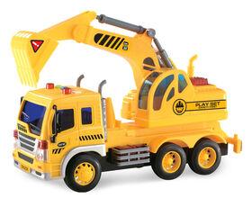 City Service: Construction Truck: Excavation Truck.