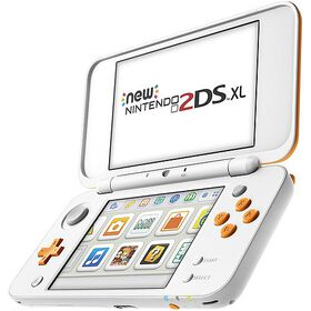 New Nintendo 2DS XL – Orange + White