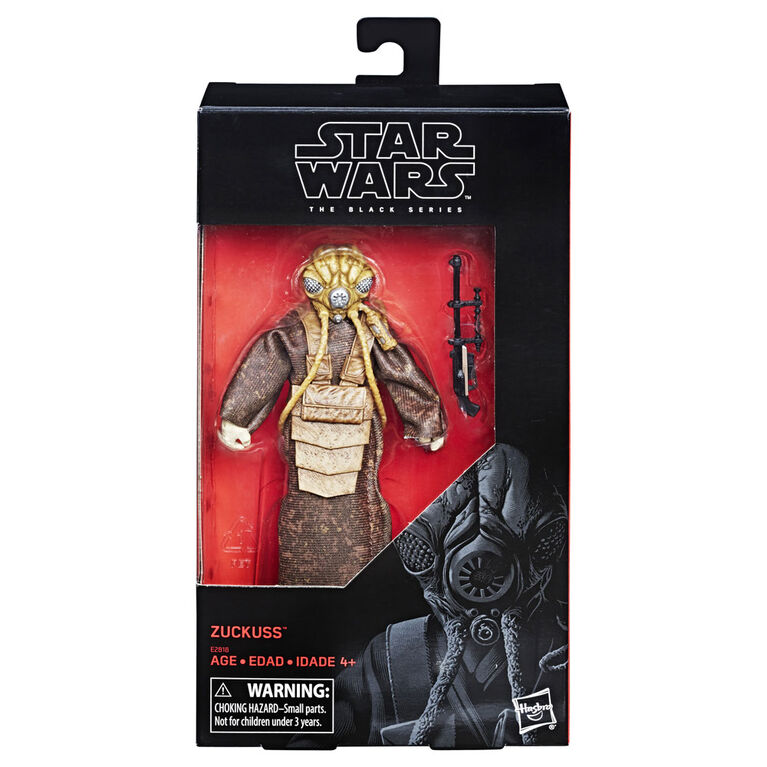 Star Wars The Black Series 6-inch Zuckuss Toys R Us Exclusive Figure - R Exclusive