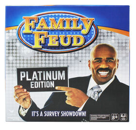Steve Harvey Family Feud, Platinum Edition Family Party Game - English Edition