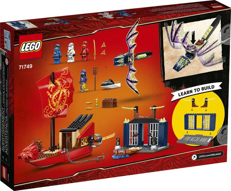 LEGO Ninjago Le vol final du QG des ninjas 71749