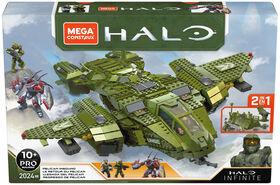 Mega Construx Halo Pelican Inbound