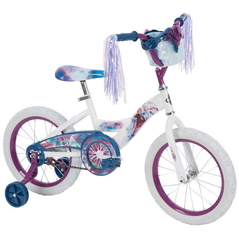 La Reine des neiges II de Disney -  Vélo de 16 pousses