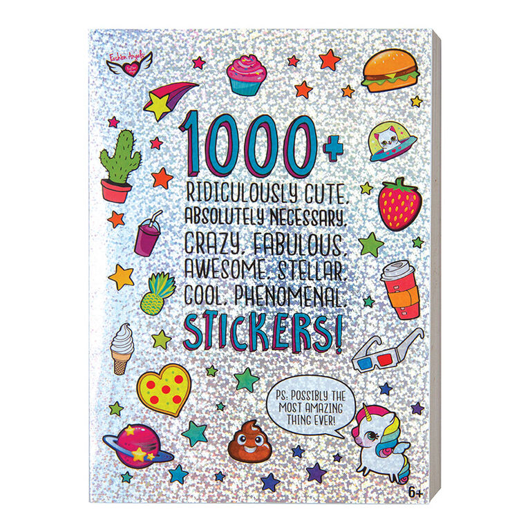 1000+ Ridiculously Cute Stickers - English Edition