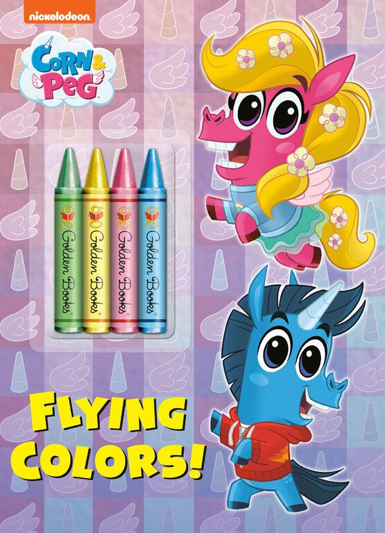 Flying Colors! (Corn & Peg) - English Edition