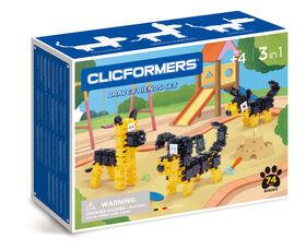 Clicformers - Coffret Brave Friends de 74 pièces