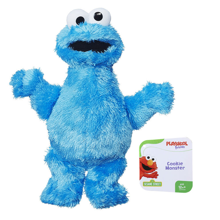 Playskool Friends Sesame Street - Minipeluche Cookie Monster