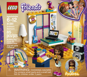 LEGO Friends La chambre d'Andréa 41341
