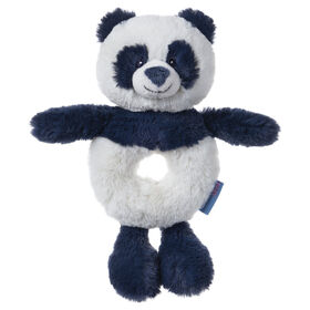 Baby GUND Baby Toothpick Cooper Panda Rattle Plush Stuffed Animal, Blue, 7.5""