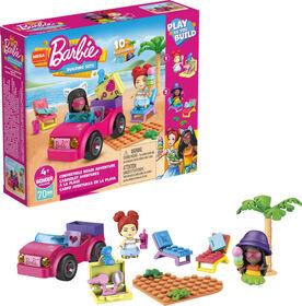 Mega Construx Barbie Convertible Beach Adventure