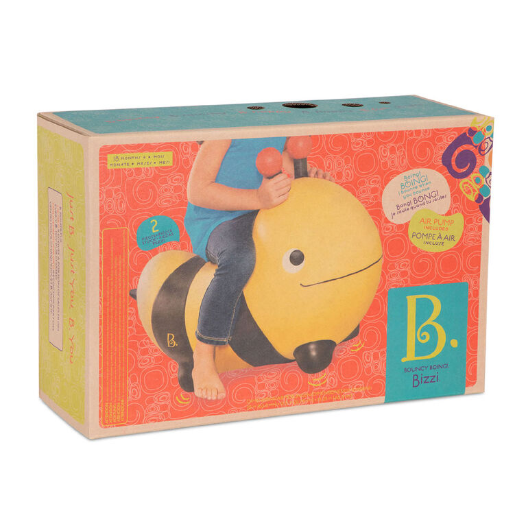 B. Toys Bouncy Boing, Bizzi, Bumblebee Bouncer Toy
