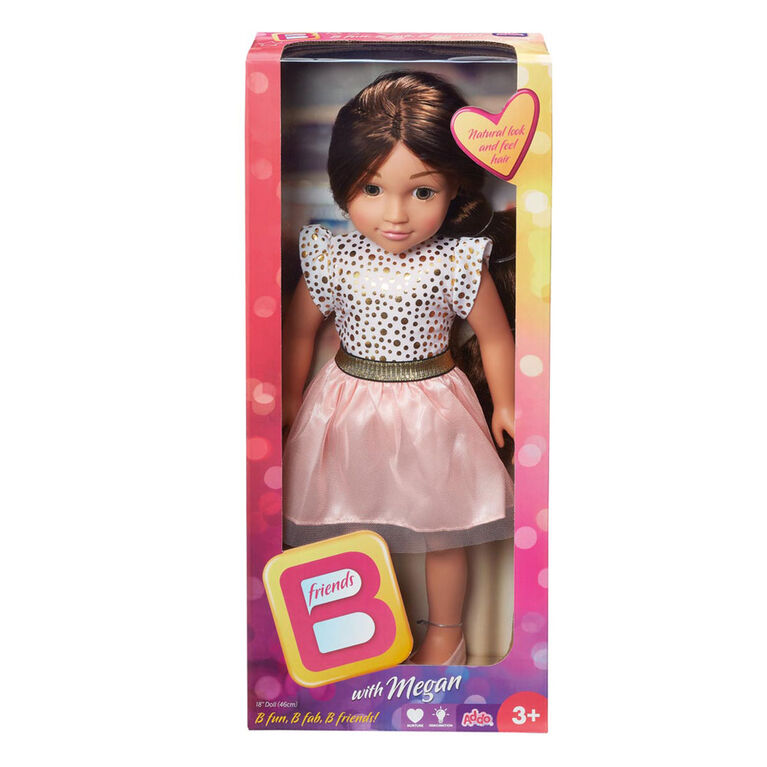 B Friends 18 inch Doll - Megan
