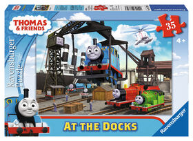 Ravensburger - Thomas & Friends at The Docks - 35 Piece Puzzle