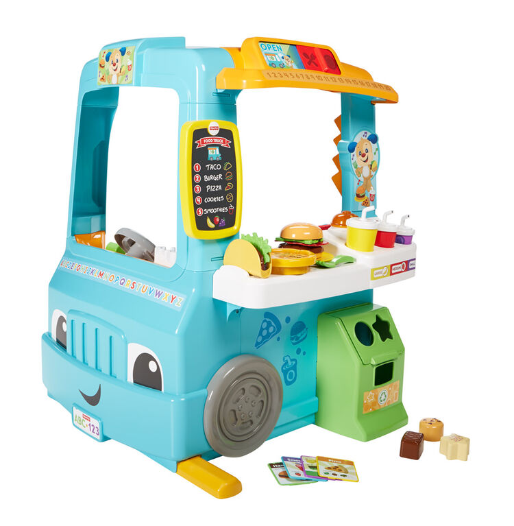 Fisher-Price Laugh & Learn Servin' Up Fun Food Truck - French Edition