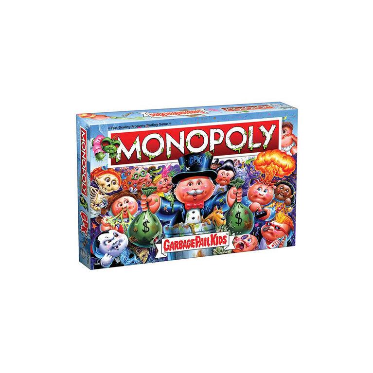 MONOPOLY: Garbage Pail Kids Jeu De Plateau - Édition anglaise