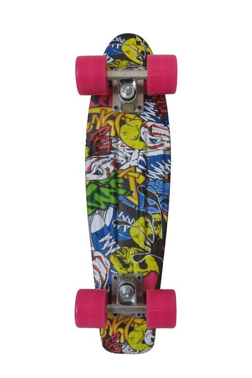Sport Runner 225 Imprime le skateboard - éclaboussures de peinture - Notre exclusivité